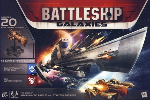 Battleship Galaxies-The Saturn Offensive