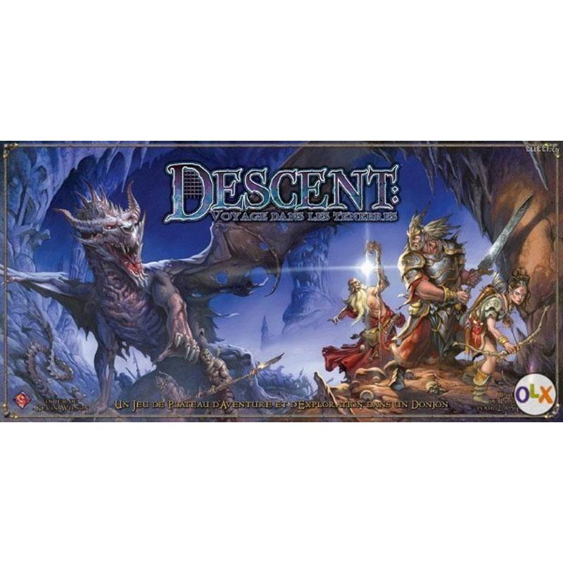 Descent-Voyage dans les Ténèbres Première Edition