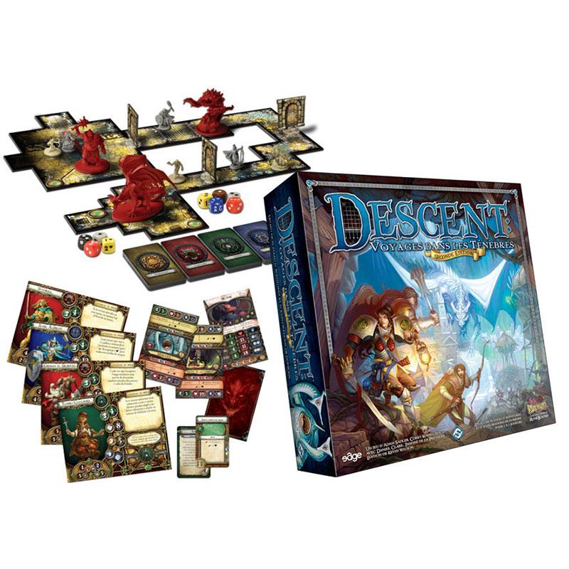 Descent-Voyages dans les Ténèbres Seconde Edition