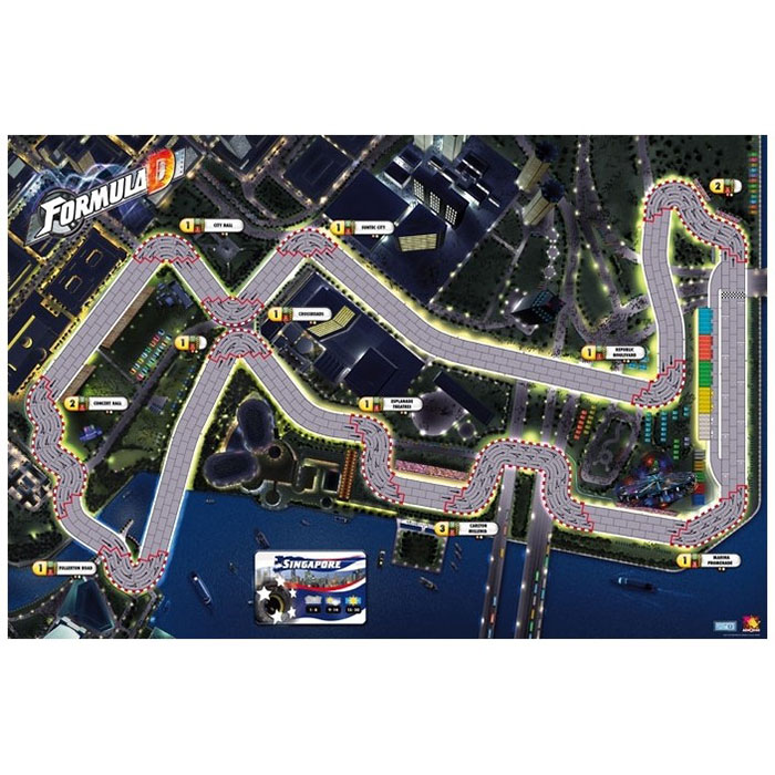 Formula D Extension Circuits Dock / Singapore
