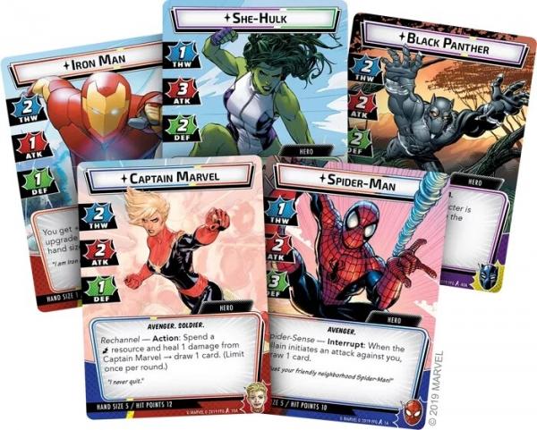 Marvel Champions-Le Jeu De Cartes