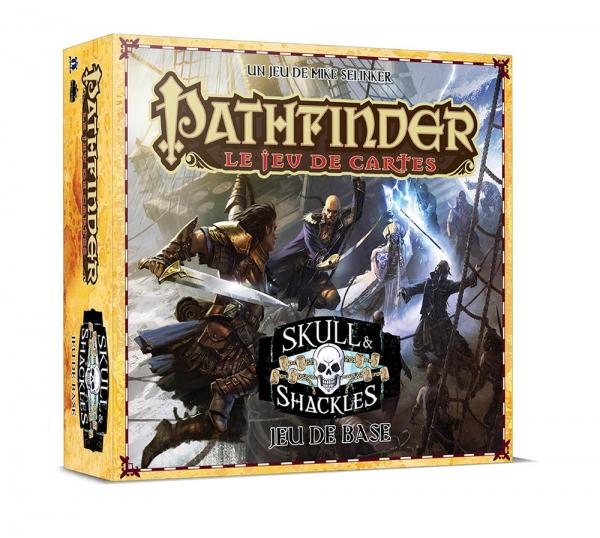 Pathfinder-Le Jeu de Cartes-Skull & Shackles-Jeu de Base