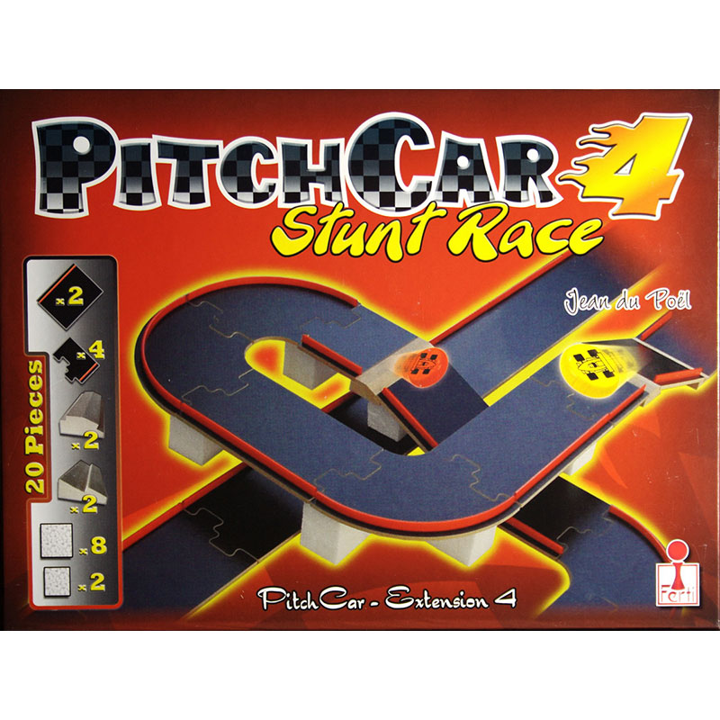 Pitch Car 4-Stunt Race