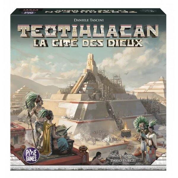 Teotihuacan-La Cité Des Dieux