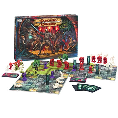 Dungeons and Dragons-Le Jeu de Plateau