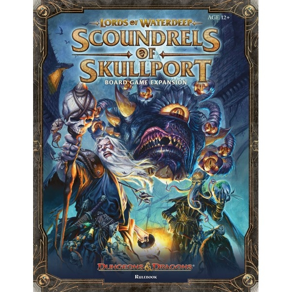 Dungeons-and-Dragons-Lords of Waterdeep-Scoundrels of Skullport
