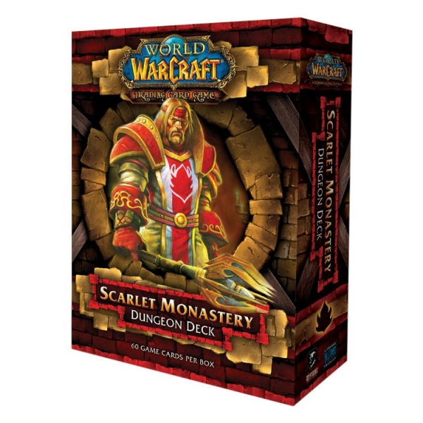 World of Warcraft-Scarlet Monastery Dungeon Deck