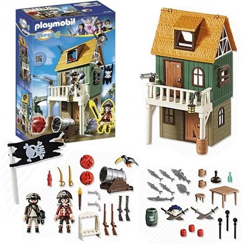 Playmobil Super4-Fort des Pirates Camouflé